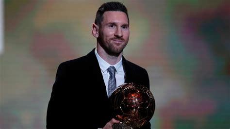 ballon dor  lionel messi wins record  trophy sports illustrated