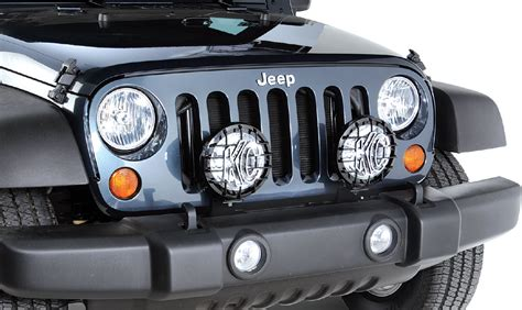 jeep grand cherokee kc lights quadratec jk lmb auxiliary light mount brackets for 07 17
