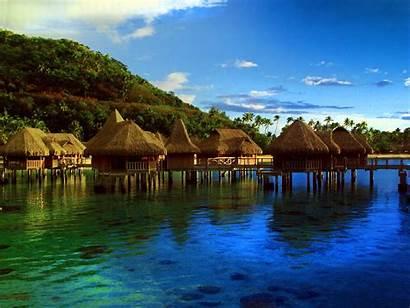 French Moorea Polynesia Islands Island Tropical Places