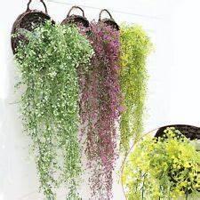 Künstliche Blumen Günstig : h ngende markenlose deko blumen k nstliche pflanzen aus kunststoff g nstig kaufen ebay ~ Frokenaadalensverden.com Haus und Dekorationen