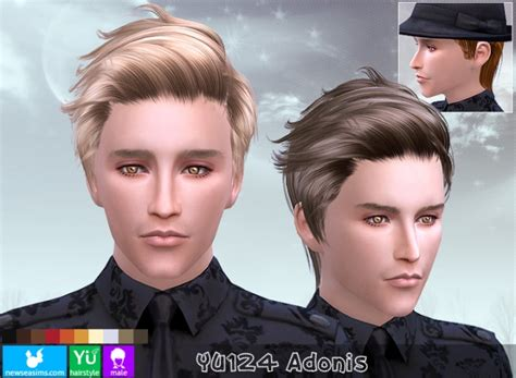yu adonis hair pay  newsea sims  sims  updates