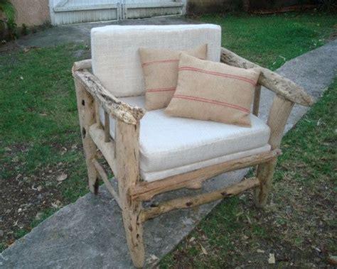 canapé bois flotté un fauteuil en bois flotté