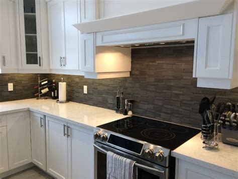 Cambria Torquay White Cabinets Backsplash Ideas