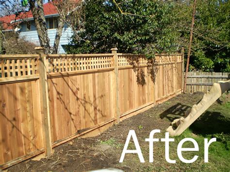 How To Build Backyard Fence by Backyard Fence Victoriarenovations Ca