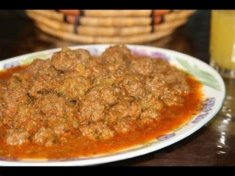 comment cuisiner des boulettes de viande boulettes de kefta recette marocaine moroccan meatball