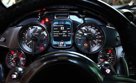 Super Car Dashboard Design, User Interface