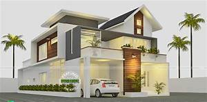 Splendid Modern Houses By Kerala House Inspirations With ...