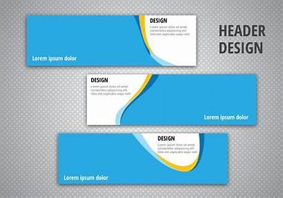 Vector Header Designs Graphics Vectors Clipart Resources