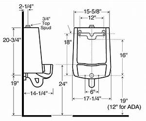 Urinal Dimensions Accessible Toilet Stall Dimensions