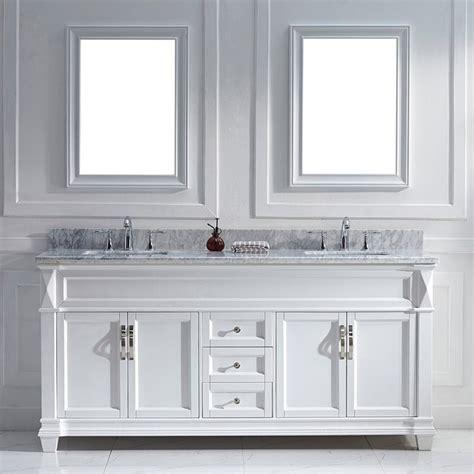 white double sink vanity virtu usa victoria 72 inch white double sink vanity set