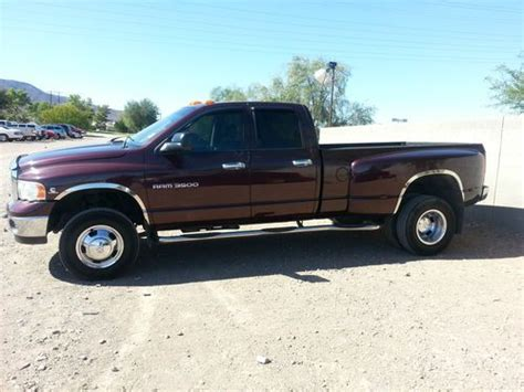 sell used 2005 dodge ram 3500 diesel dually crew cab in henderson nevada united states