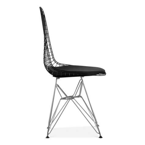 chaise en fil de fer chaise de style dkr fil de fer chaise en métal cult uk