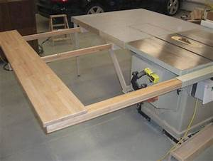 Table Saw Outfeed Table - by screwge @ LumberJocks com