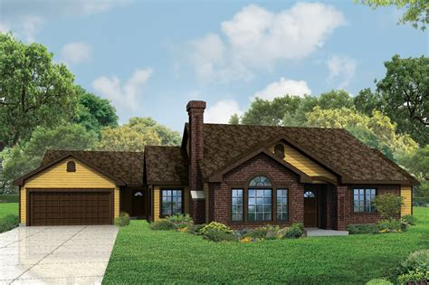 Ranch House Plans  Darrington 30941  Associated Designs