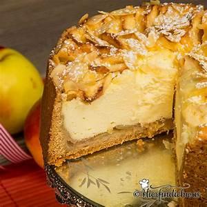 Französischer Apfelkuchen Backen : apfel kaesekuchen mit apfelmus apfelspalten und quark ~ Lizthompson.info Haus und Dekorationen