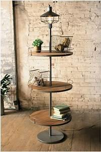 10 floor lamp designs you will admire With 3 shelf wooden floor lamp