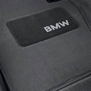 Genuine BMW Logo Floor Mat Set, Grey - E46 (82111470423)