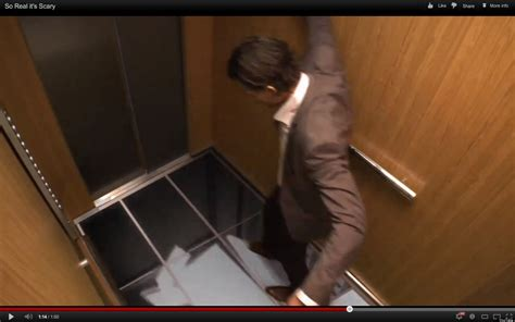 elevator prank floor falls lg pranks elevator riders makes it seem they re about to