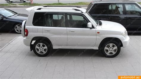 mitsubishi pajero io mitsubishi pajero io urgent sale second hand 2002 8900