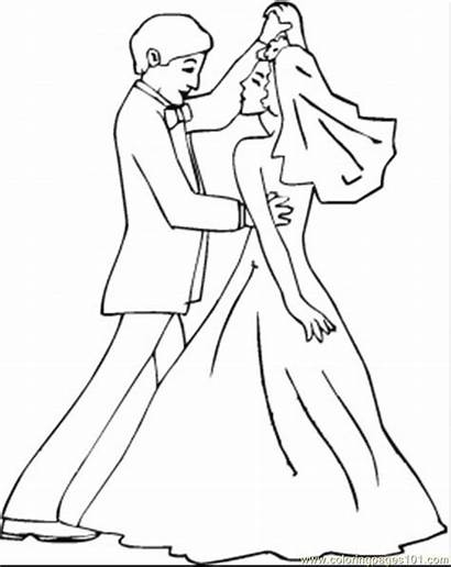 Coloring Dancing Printable Dance Pages Entertainment
