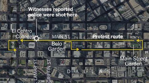 attack   dallas police unfolded