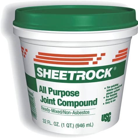 usg  pt  purpose joint compound green lid
