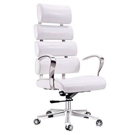 small white office chair white leather desk chairs home design