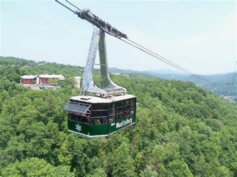 chair lift up the mountain side picture of ober gatlinburg aerial tramway gatlinburg