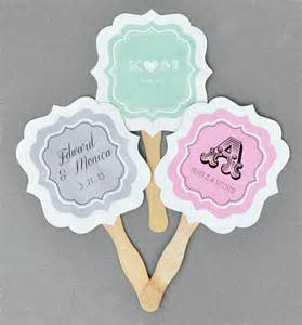 personalized wedding fans 24 personalized custom monogram anniversary wedding paddle fans favor ebay