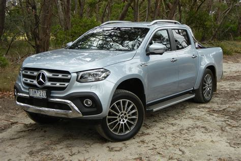 2019 mercedes truck price mercedes x class v6 2019 review carsguide