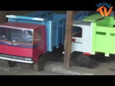 pengrajin mobil mobilan kayu youtube