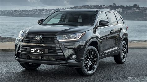 The toyota kluger, known as the toyota highlander in north america, is a crossover suv assembled by toyota under the toyota brand name in its kyūshū, japan assembly plant and its ikeda, osaka, japan assembly plant during 2008 and present. Toyota Kluger Black Edition 2019 pricing and specs ...