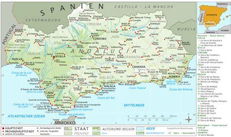 landkarten und stadtplaene von spanien weltkartecom