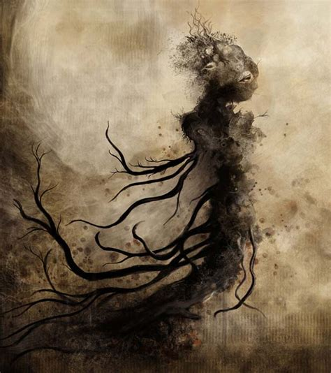 mysterious digital artworks  manipulations  eric
