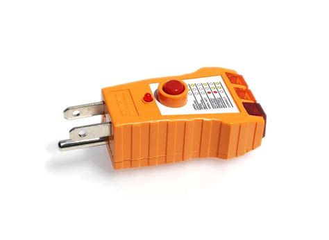 Wire Gfci Outlet Tester Receptacle For Polarity