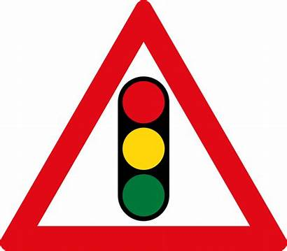Traffic Ahead W301 Sign Signs Signals