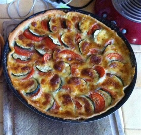 cuisiner un chou fleur recette tarte tomate courgette mozzarella 750g