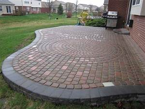 Brick paver patio repair redesign in canton mi brick for Brick paver patio pictures