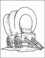 Wagon Coloring Pages Covered Train Horse Conestoga Stagecoach Drawing Template Getcolorings Printable Getdrawings Popular Revolutionary sketch template