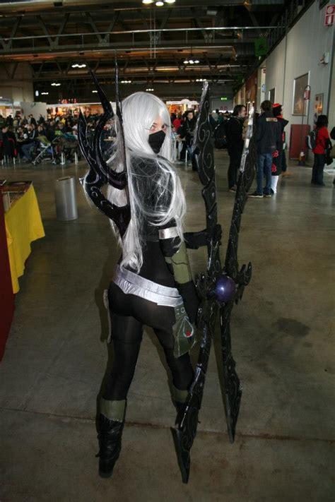 nightblade irelia league  legends cosplay art  lol