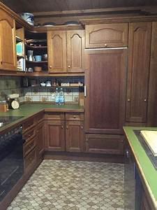 Kuche eiche rustikal in vaterstetten kuchenzeilen for Küche rustikal