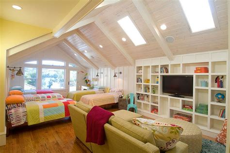 Delightful Kids' Rooms With Skylights