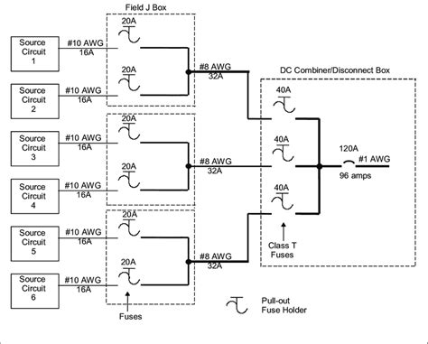 Intellitec Thermostat Wiring Diagram by 1 Exle Of A Pv Array Wiring Diagram Showing Disconnect