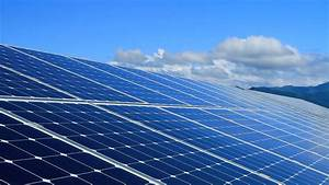 Solar Panels With Nature Background Stock Footage Video