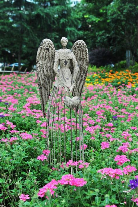Garden Angel Statue Outdoor