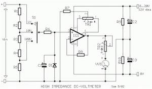 high impedance dc voltmeter using mos op amp eeweb community With how to measure amps electrical service circuit or individual device