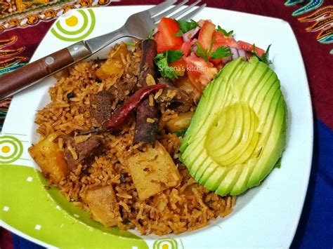 Let the sauce reach a simmering point then tip in the sweet potatoes. Beef Pilau with Sweet Potatoes - Sheena's Kitchen