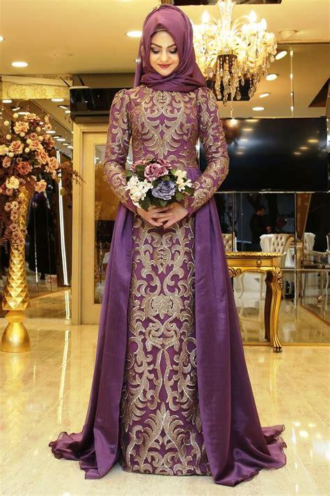 tren model gaun pesta muslim terbaru