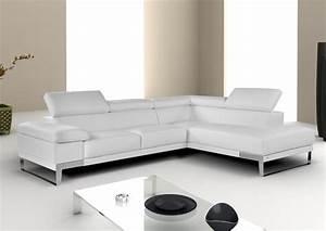 Acheter votre canape angle contemporain tetieres reglables for Canapé angle contemporain