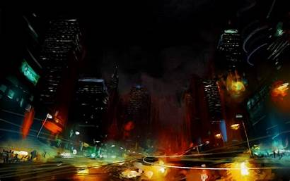 Artistic Wallpapers Cool Screen Backgrounds Background Cities